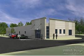 Exterior Options For Metal Buildings by Light Commercial Exterior Rendering Charlottesville Architectural Renderi