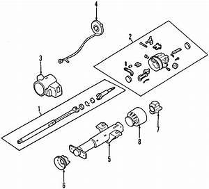 Buick Regal Shaft Assembly  Steering Shaft  1994 Tilt