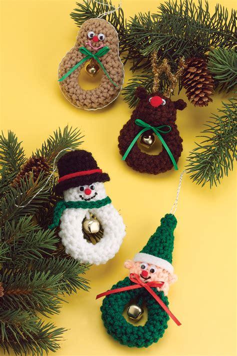 character crochet pattern crochet patterns - Crochet Christmas Ornaments Patterns Free