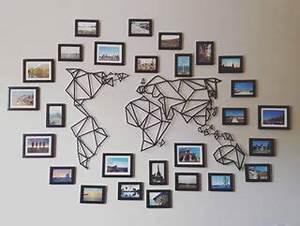 Carte Du Monde Metal : un beau sch ma de d coration pour notre carte du monde en m tal disponible sur le shop artwall ~ Teatrodelosmanantiales.com Idées de Décoration