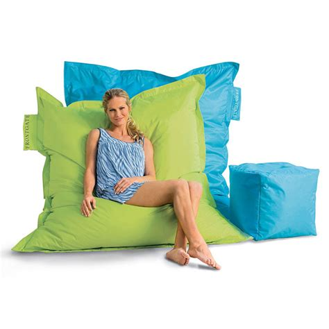 outdoor oversized beanbag chair the green