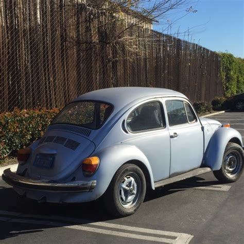 1974 Vw Beetle Volkswagen With Sunroof Very Rare Type 1 No