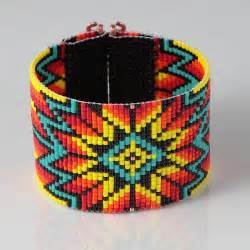 Native American Bead Loom Bracelet Pattern