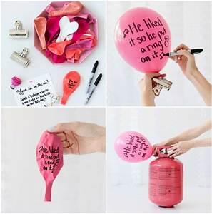 Ballon Mit Mehl Füllen : basteln mit luftballons 11 dekoideen zum selbermachen ~ Markanthonyermac.com Haus und Dekorationen