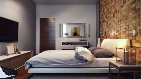 Bedroom Feature Walls by Wood Block Textured Feature Wall Interior Design Ideas