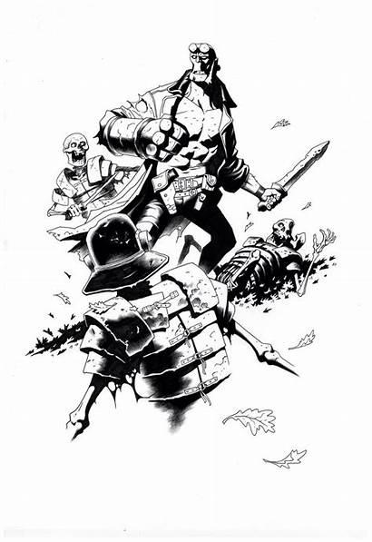 Stenbeck Ben Mignola Mike Comic