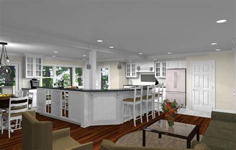 kitchen remodeling design  open floor plan  watchung nj  design build planners