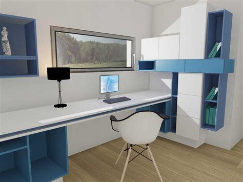 meuble de bureau sur mesure mon bureau sur mesure en un rien de temps