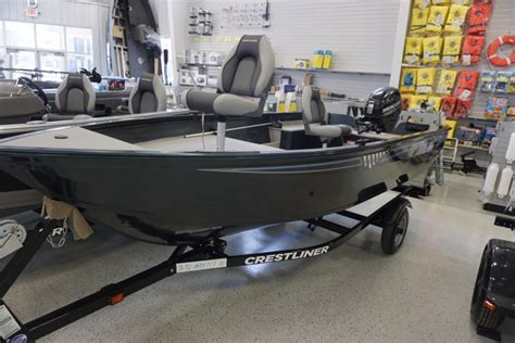 Discovery Marine L by 2016 Crestliner 1450 Discovery Tiller Kaukauna Wi For Sale