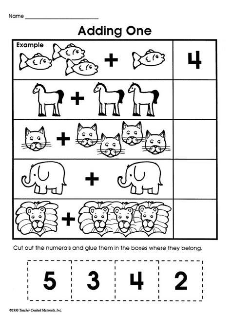 adding  printable addition worksheet  kids math