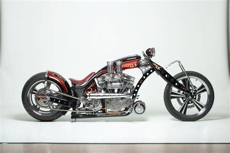 Covington's Luciferii Custom Motorcycle