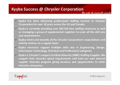 Chrysler Talent Acquisition by Kyyba Tabp Talent Acquisition Business Partner