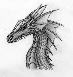 Dragon Head Sketches Drawings