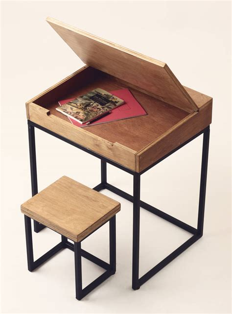 Childerns Desk by Wooden Children S Desk And Stool By Daniela Rubino Designs
