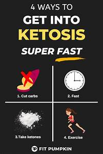 4 Ways To Get Into Ketosis Really Fast