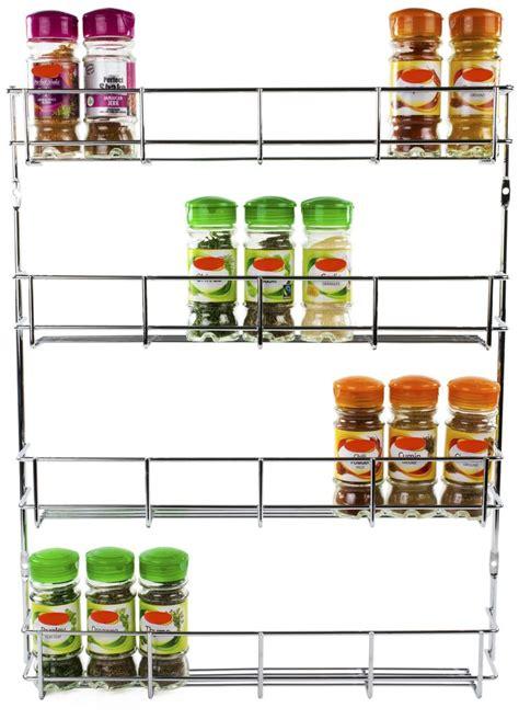 etagere a epice cuisine andrew étagère à épices de 4 niveaux à fixer au
