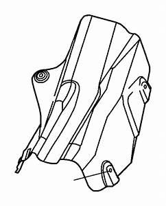 Dodge Durango Nut  Heat Shield Attach  M5x1 60  Brake Line