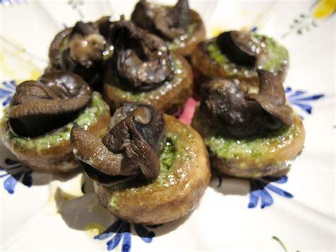 cuisine escargot escargot stuffed mushrooms tasting page