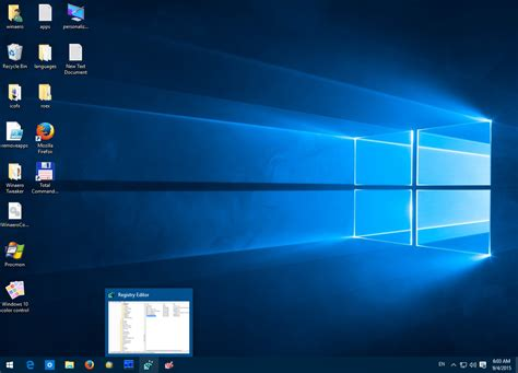 How to disable taskbar preview thumbnails in Windows 10