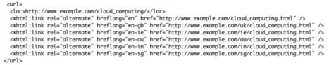 How Implement The Hreflang Element Using Xml Sitemaps