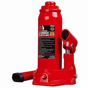 Omega 30-ton Hydraulic Air  Manual Bottle Jack-18302c