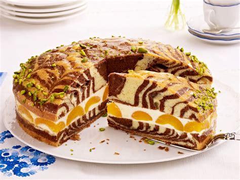 Kuchen Muster by Zebrakuchen Mit Zitronencreme So Geht S Backen