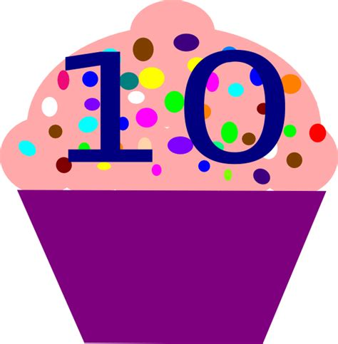 ten clipart png cupcake 10 clip at clker vector clip