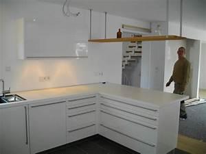 Hochglanz Weiß Küche : bax k che in wei hochglanz schichtstoff ger te von miele ~ Michelbontemps.com Haus und Dekorationen