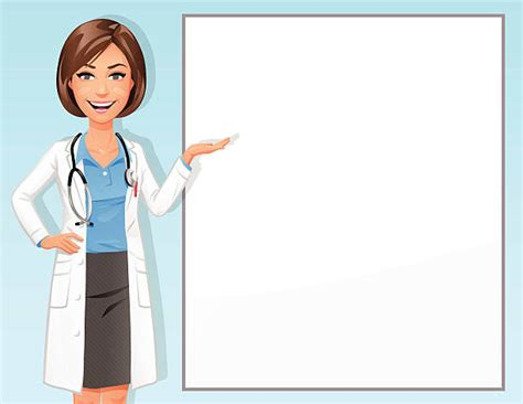 Royalty Free Female Doctor Clip Art, Vector Images