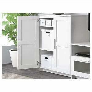 BRIMNES TV Storage Combination White 258 X 41 X 190 Cm IKEA