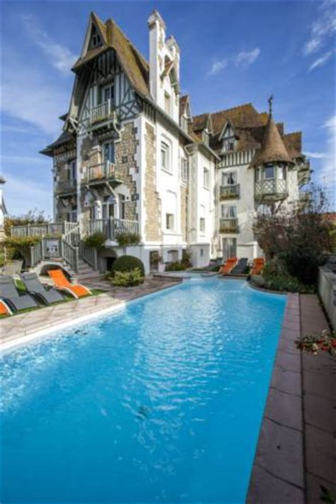 Deauville  Carte Plan Hotel Ville De Deauville 14800