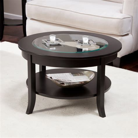 Black Circle Coffee Table  Coffee Table Design Ideas