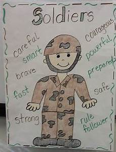 Our Helpers Chart Soldier Anchor Chart Can Be Used For Veteran 39 S Day