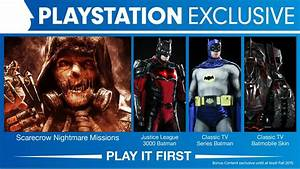 Batman Arkham Knight PS4 Content Is A Timed Exclusive VG247