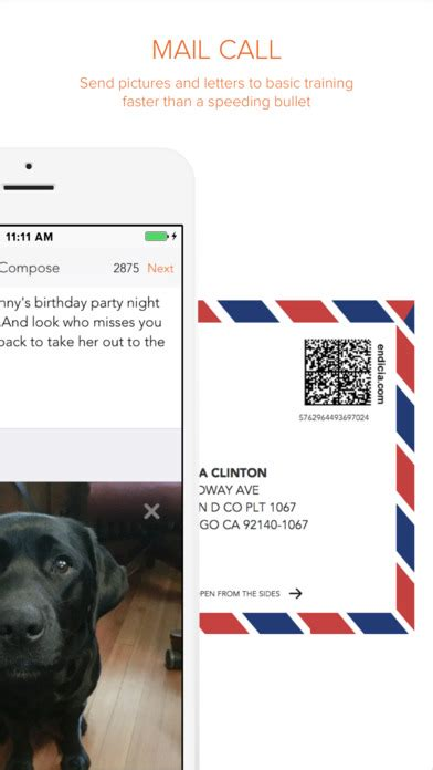 sandboxx app staying connected   soldier  letters