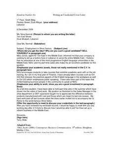 Unsolicited Resumes Policy by Sle Unsolicited Cover Letter Best Letter Sle