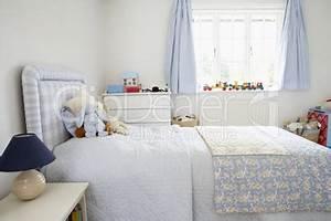 Kinderzimmer In Weiß : kinderzimmer in hellblau und weiss lizenzfreie bilder und fotos ~ Indierocktalk.com Haus und Dekorationen