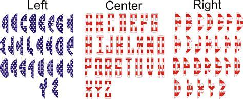 stars  stripes circle monogram svg cuttables