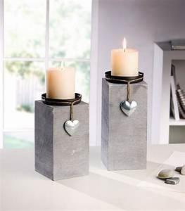Deko Holz Shop : kerzenhalter little heart 2er set jetzt f r 15 50 kaufen im frank flechtwaren und deko ~ Watch28wear.com Haus und Dekorationen