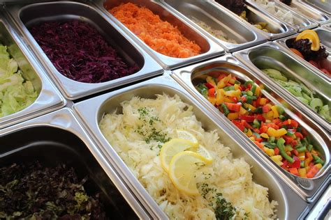 Free Photo Salad Bar, Salad Buffet, Salad  Free Image On