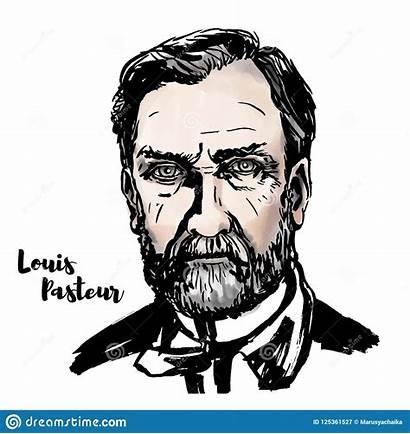 Pasteur Louis Rabies Vector Illustration Microbiologist