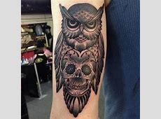 Tatouage Hibou Mecanique Tattoo Art