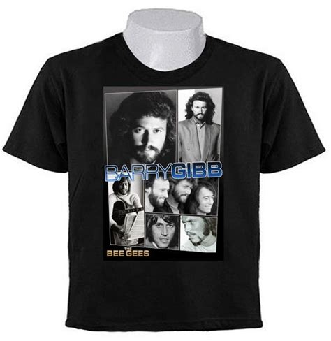 barry gibb bee gees tribute  shirts pop   rock
