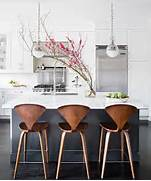 Should Your Bar Stools Match Your Dining Chairs by Charcoal Gray Kitchen Island With White Marble Counters Contemporary Kitchen