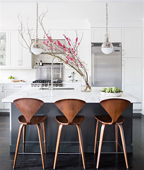 kitchen island chairs charcoal gray kitchen island with white marble counters