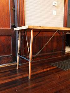 Vintage Folding Wallpaper Pasting Table