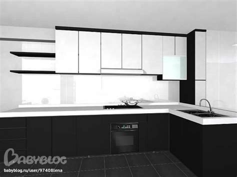 modular kitchen designs black and white чёрно белая кухня запись пользователя елена 97408lena 9774