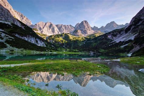 Berge In Licht Und Wasser Foto & Bild  Landschaft, Berge