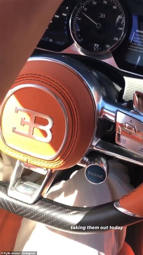 Kylie jenner was bullied into deleting this video of her new bugatti chiron some of kylie's social media followers thought the makeup mogul's purchase of the $3 million hypercar was a tad. Billionaire Kylie Jenner Adds Bugatti Chiron to her Stable ...