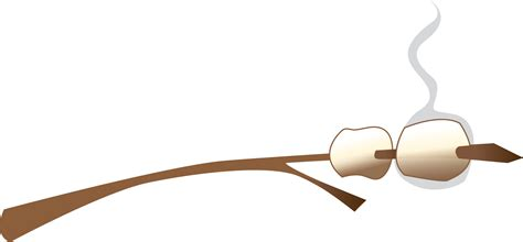 marshmallow on a stick clipart best marshmallow clip 19209 clipartion